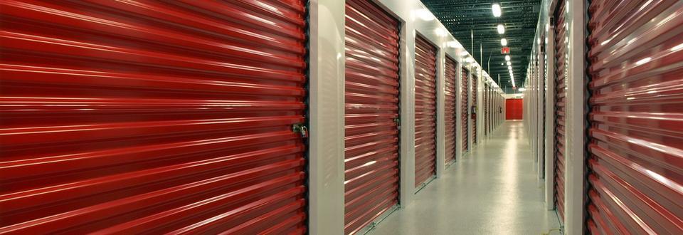 image of inside self storage facilities